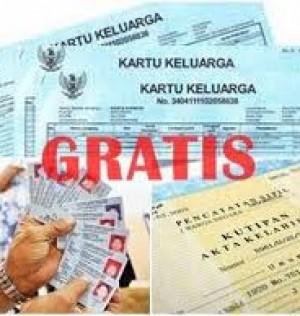 Pengurusan Kartu Keluarga, Akte Kelahira &  Kartu Tanda Penduduk Tidak Dipungut Biaya (Gratissssss)